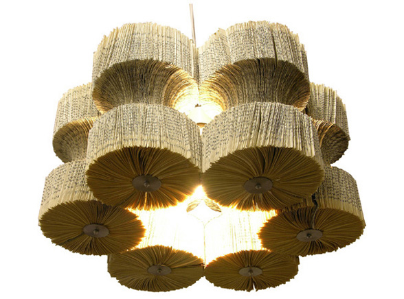 GlassLampShade_recyledbooks