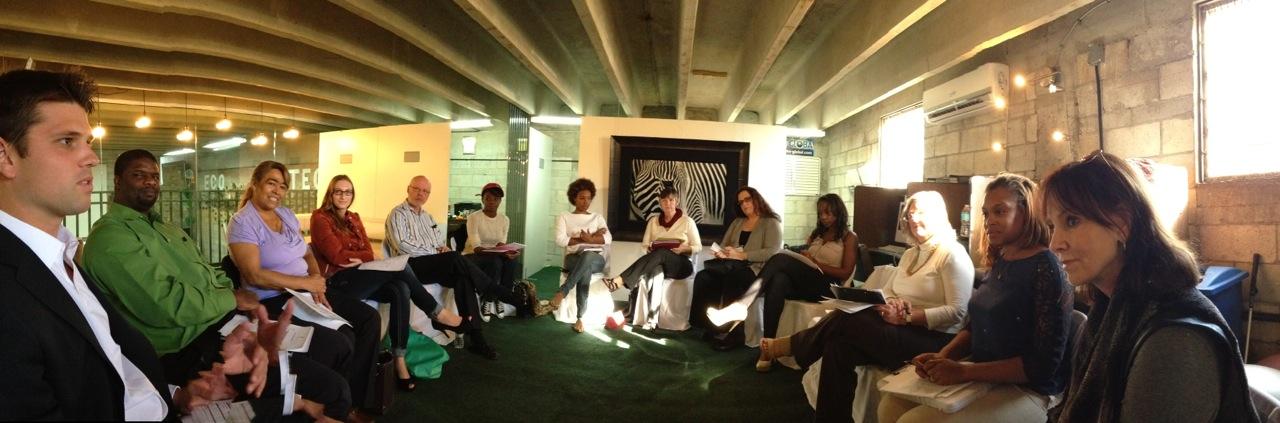 Entrepreneurs at EcoTech Visions