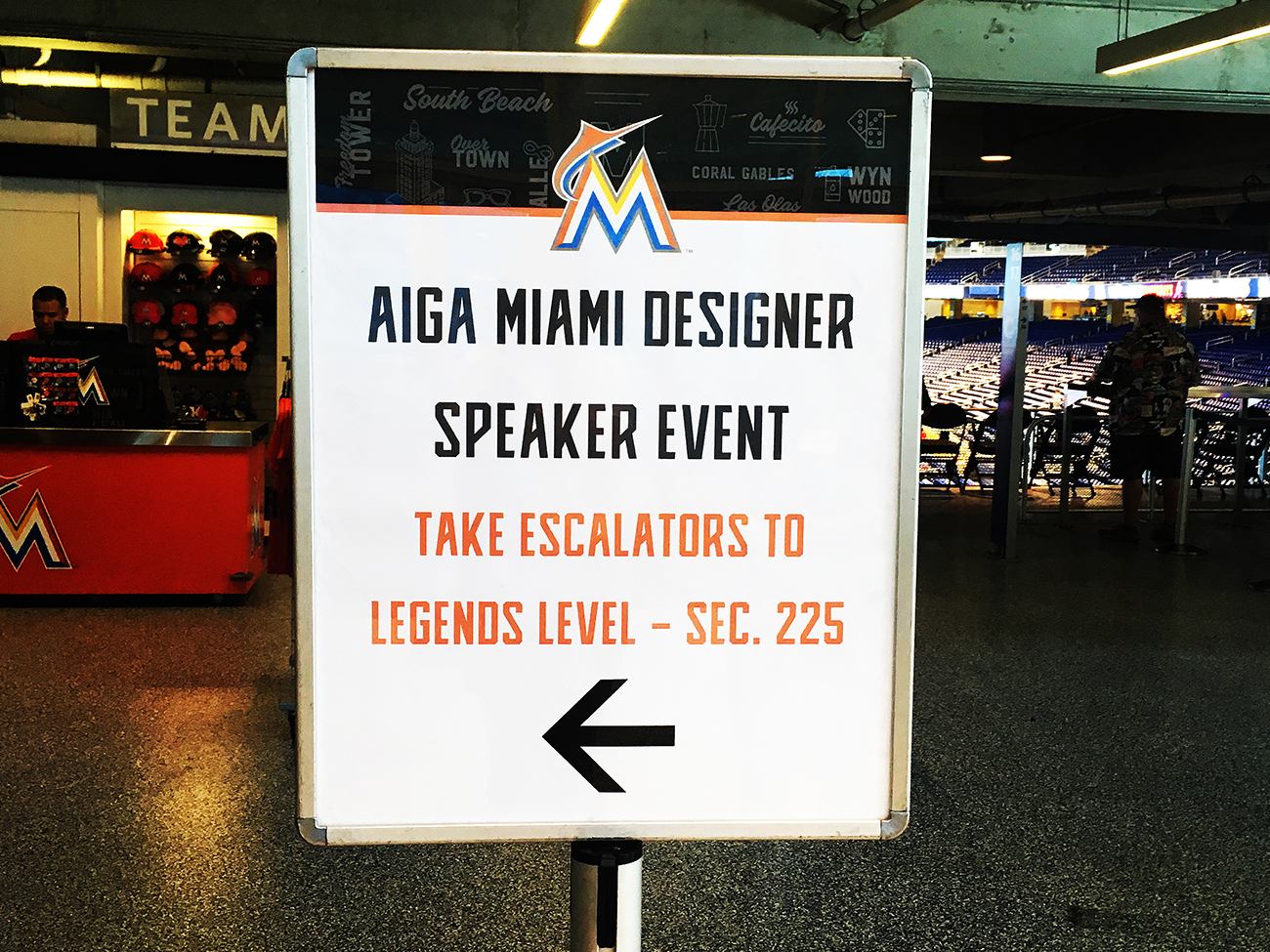Designing for Baseball + Miami Marlins vs. Braves game Recap