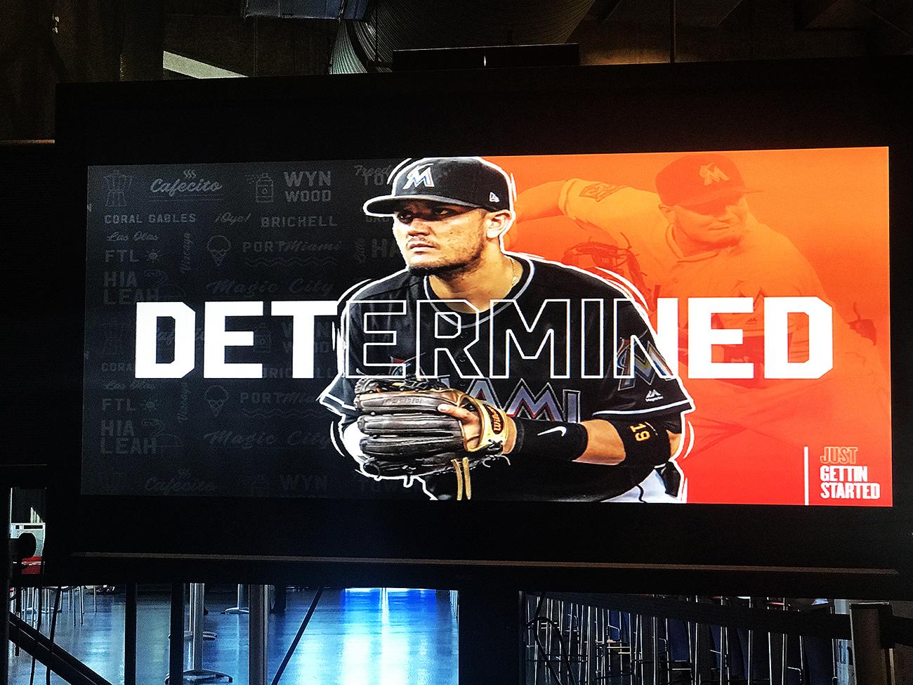 Designing for Baseball + Miami Marlins vs. Braves game Recap